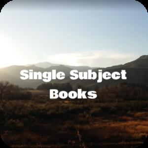 Single Subject Books