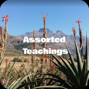 Assorted Teachings