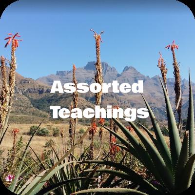 Audio Teachings
